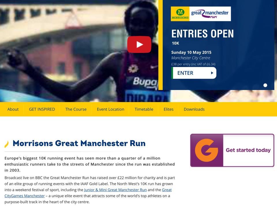 Morrison's Great Manchester Run